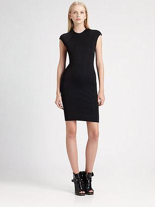 Alexander Wang Cap-Sleeve Dress