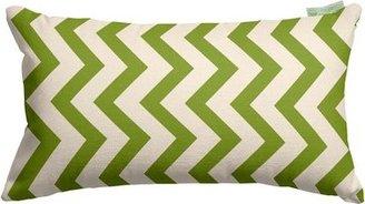 Zig Zag Lumbar Pillow Majestic Home Goods Color: Sage