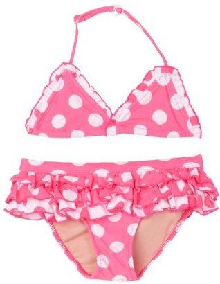 Beach Rays Girls' Darling Polka Dot Bikini