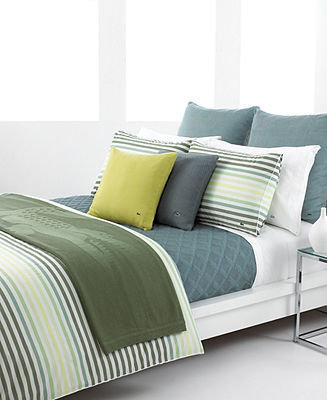 Lacoste Bedding, Canopy Twin Duvet Cover Set
