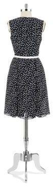Anne Klein Plus Polka Dot Dress