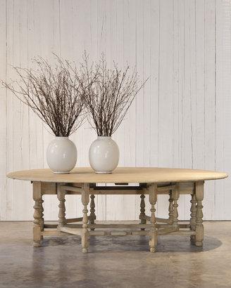 "Ralph Lauren Home William & Mary"" Gateleg Table"