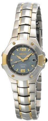 Seiko Women's SXD656 Coutura Two-Tone Watch $150.99 thestylecure.com