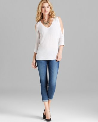 Michael Stars Tee - Cold Shoulder