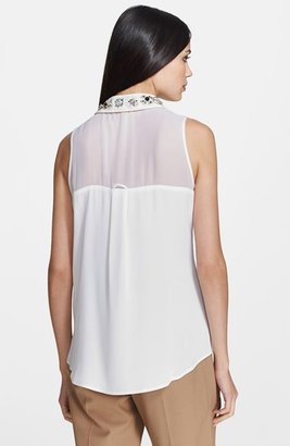 Milly 'Jane' Collar Blouse
