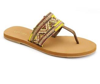 Sonoma life + style ® woven straw flip-flops