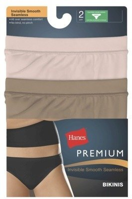 Hanes Women's Premium Invisible Smooth Seamless Bikini - NS42AS - Assorted Colors/Patterns