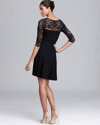 Karen Kane Fit and Flare Lace Dress
