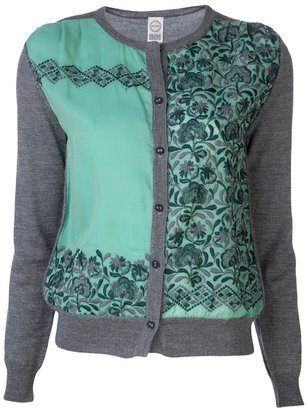 Antipast embroidered cardigan