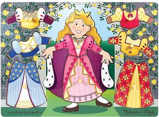 Melissa & Doug Princess Dress-Up Mix 'n Match Peg