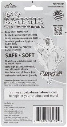 Baby Banana Brush Infant Teething Toothbrush