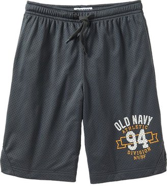 Old Navy Boys Graphic Mesh Basketball Shorts