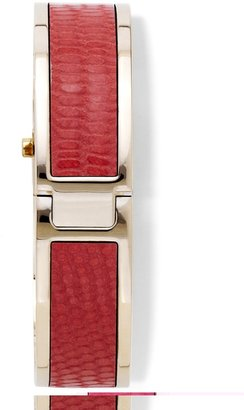 Vince Camuto Pyramid and Leather Stud Watch