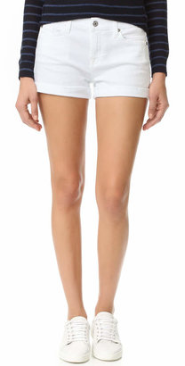7 For All Mankind Roll Up Shorts $138 thestylecure.com