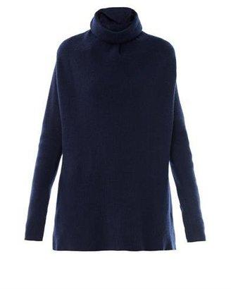 Maison Martin Margiela Roll-neck ribbed-knit sweater