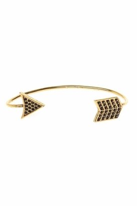 House Of Harlow 14KT Gold-Plated Antiqued Arrow Wrap Earring