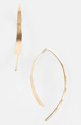 Melissa Joy Manning 'Wishbone' Small Open Hoop Earrings