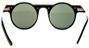 Spitfire Sunglasses The Hi Teque Sunglasses in Black and Gold