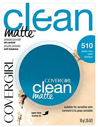 COVERGIRL Clean Matte Pressed Powder Classic Ivory .35 oz. $6.76 thestylecure.com