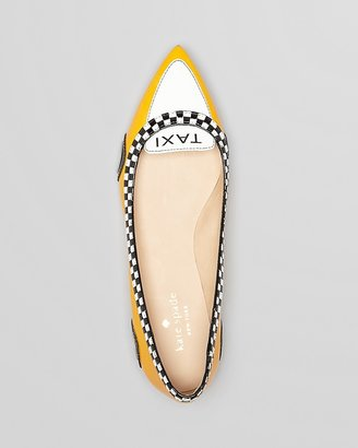 Kate Spade Go Taxi Ballet Pointed Toe Flats