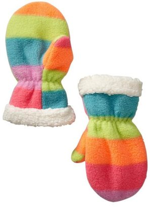 Gap Pro Fleece rainbow mittens