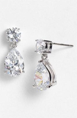 Women's Nadri Cubic Zirconia Teardrop Earrings $50 thestylecure.com
