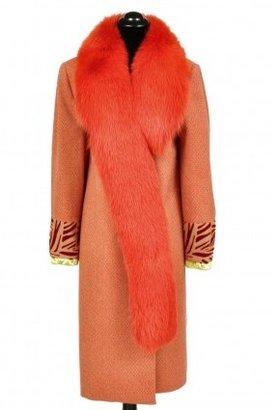 Versace excellent (EX) Gianni Couture Fox Fur Coat