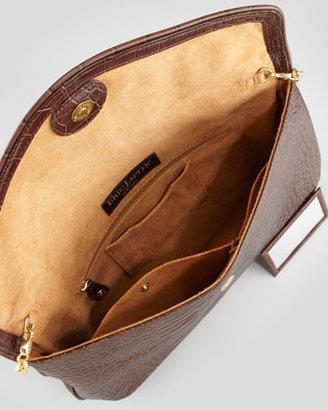 Eric Javits Olivia Clutch Bag, Walnut