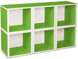 Way Basics 6-pk. zBoard Storage Cubes - Green