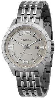 Fossil Analog Taupe Dial