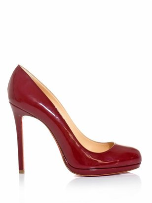 Christian Louboutin Neofilo 120mm patent leather pumps