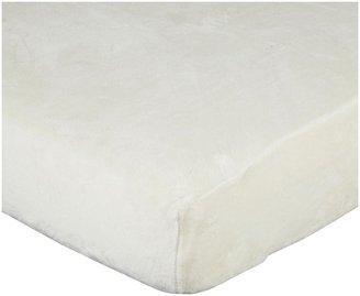 American Baby Company Heavenly Soft Chamois/Chenille Mini Crib Sheet