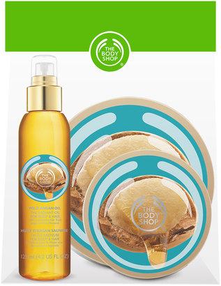 The Body Shop Argan Body Care Bundle