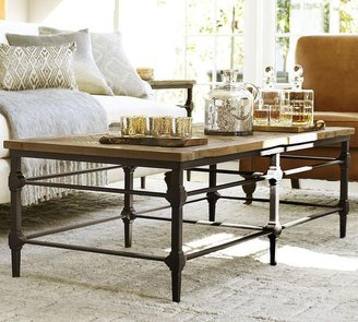 Pottery Barn Parquet Coffee Table