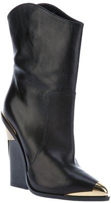 Versace mid-calf boot