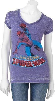 "Spiderman Freeze ""the amazing burnout tee - juniors"