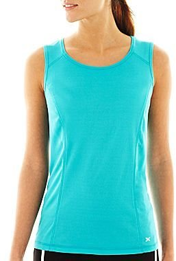 JCPenney XersionTM Sleeveless Mesh Tank Top