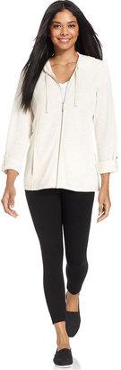 Style&Co. Sport Jacket, Zip-Up Hoodie
