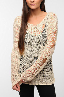 Evil Twin Bad Wiring Knit Top