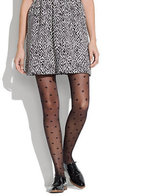 Madewell Swiss-dot tights