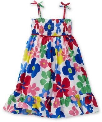 Mini Boden Strappy Summer Dress (Little Girls & Big Girls)