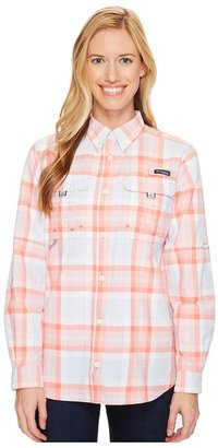 Columbia - Super Bahama L/S Shirt Women's Long Sleeve Button Up $65 thestylecure.com