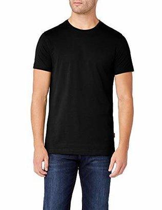 Signum Men's Basic T-Shirt 1/2 r-Neck 999902911 Blau (Peacoat Blue 688)