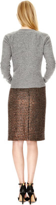 J.W.Anderson Boiled Wool Crewneck Twisted Sweater