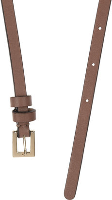 Valentino Leather and chain belt