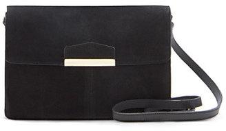 MANGO Suede shoulder bag