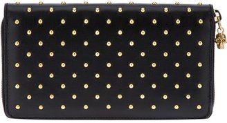 Alexander McQueen studded leather wallet