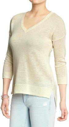 Old Navy Women's Linen-Blend Pullovers