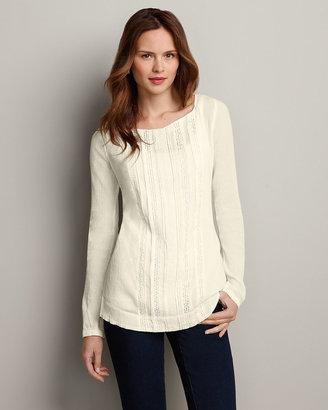 Eddie Bauer Long-Sleeve Gauze Pullover Shirt