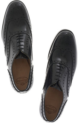Church's The Burwood glossy leather brogues